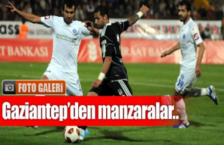 Gaziantep BŞB-Beşiktaş