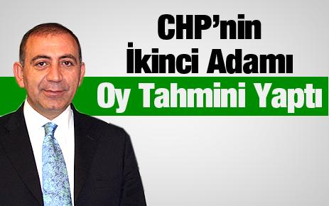 Gürsel Tekin'e göre CHP'nin oy oranı