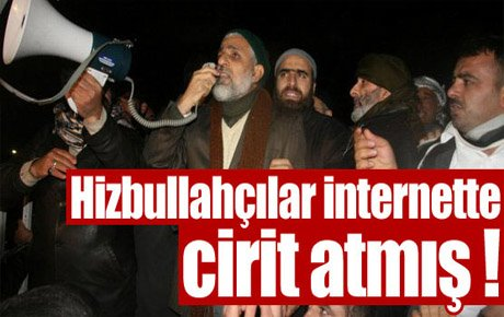 Hizbullahçılar internette cirit atmış !