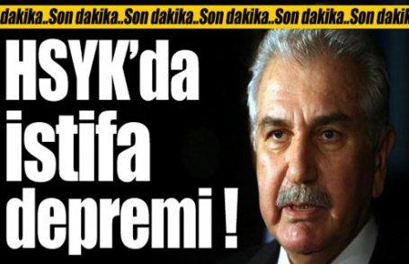 HSYK'da istifa depremi !