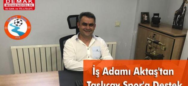 İş Adamı Aktaş'tan Taşlıçay Spor'a Destek
