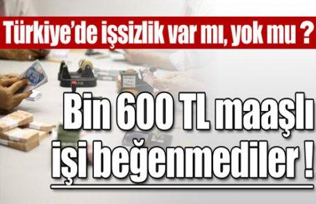 İstanbul'a personel bulamadı!