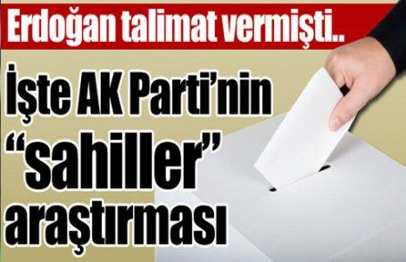 İşte AKP'nin sahiller raporu