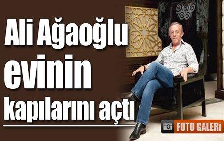 İşte Ali Ağaoğlu'nun evi