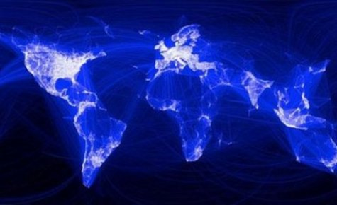 İşte facebook arkaşlığının oluşturduğu harita