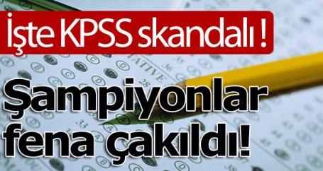 İşte KPSS skandalı !