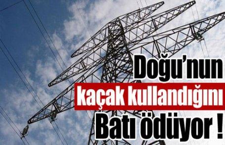 İşte Türkiye'nin kaçak faturası !