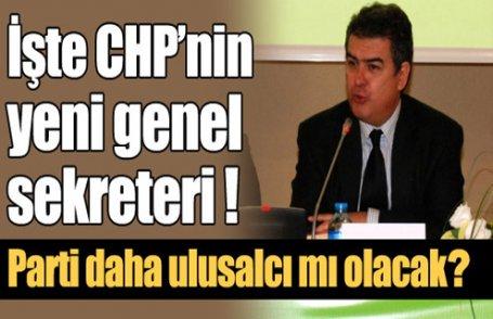 İşte yeni CHP genel sekreteri !