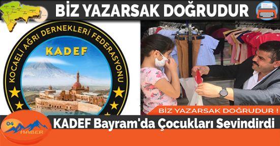 KADEF Bayram'da Çocukları Sevindirdi