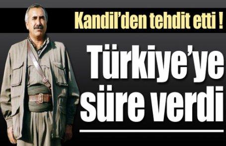 Karayılan, Türkiye'ye süre verdi