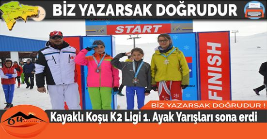 Kayaklı Koşu K2 Ligi 1. Ayak Yarışları sona erdi