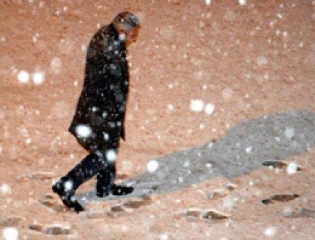 Kayseri'de mevsimin ilk karı düştü