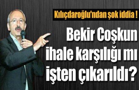 Kılıçdaroğlu'ndan şok iddia !