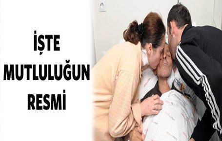 Kızından karaciğer, oğlundan böbrek nakledildi