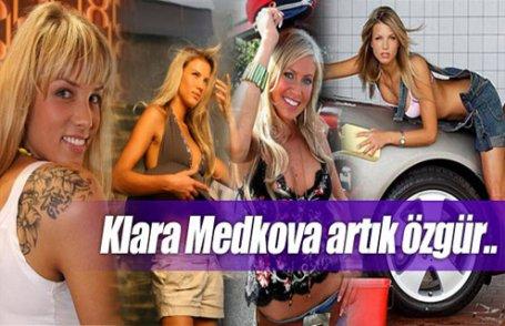 Klara Medkova artık özgür..