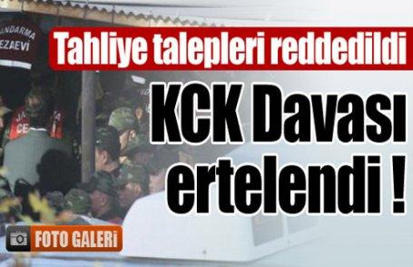 Kritik KCK davası ertelendi