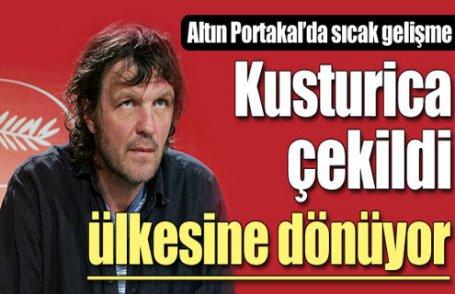Kusturica jüri üyeliğinden çekildi !