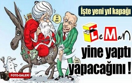 Leman'ın yeni yıl kapağı