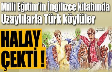 MEB Uzaylılarla Türkleri halay çektirdi