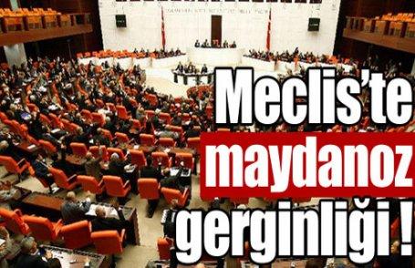 Meclis'te maydanoz gerginliği
