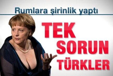 Merkel'e Kıbrıs cevabı