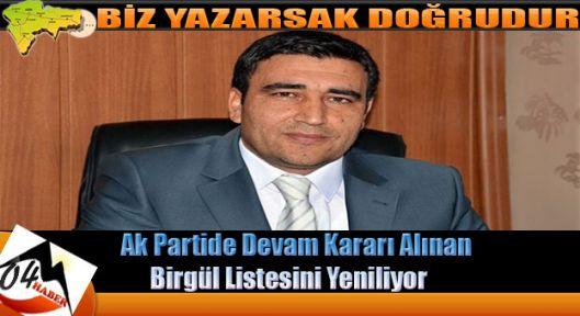 Merkez İlçe Latif Birgül'le Devam