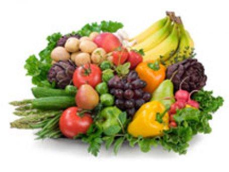 Meyve sebze kadın kemiğini koruyor
