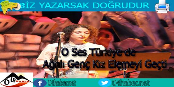O Ses Türkiye de Yeni Temsilcimiz Gülperi Oldu