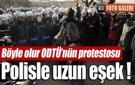 ODTÜ'de polisle uzun eşek !