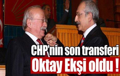 Oktay Ekşi CHP'ye katıldı !