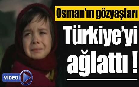 Osman'ın gözyaşları herkesi ağlattı !
