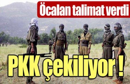 PKK çekiliyor !