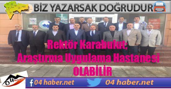Rektör Karabulut, ASTOP Ziyaretinde Önemli Açıklamalarda Bulundu