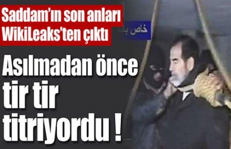 Saddam'ın son anları WikiLeaks'ten çıktı