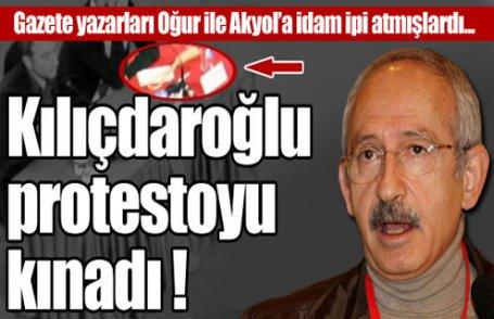 Sakarya protestosunu kınadı !