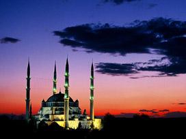 Selimiye Camisi'ne hayran kaldı