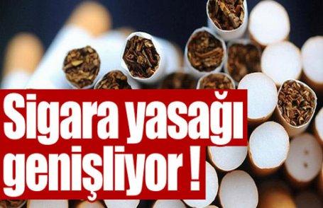Sigara yasağı genişliyor !