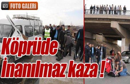 Sivas'ta inanılmaz kaza !