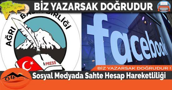 Sosyal Medyada Sahte Hesap Hareketliliği
