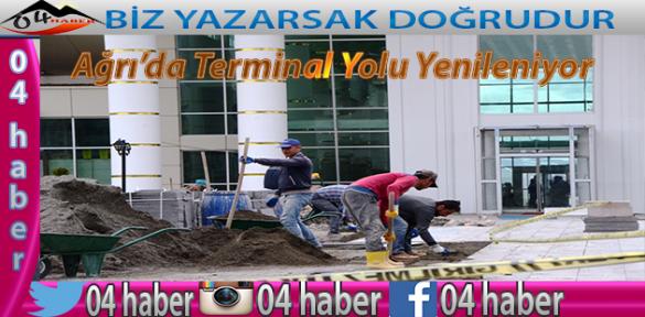 Terminal Yolu Yenileniyor