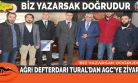AĞRI DEFTERDARI TURAL'DAN AGC'YE ZİYARET