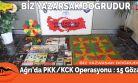 Ağrı'da PKK/KCK Operasyonu : 15 Gözaltı