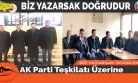 AK Parti Teşkilatı Üzerine