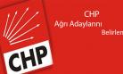 CHP Ağrı Adaylarını Belirlendi