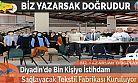Diyadin'de Bin Kişiye İstihdam Sağlayacak Tekstil Fabrikası Kuruluyor