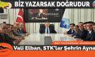 Vali Elban, STK'lar Şehrin Aynası