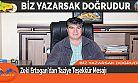Zeki Ertogan'dan Taziye Teşekkür Mesajı