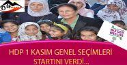 Ağrı'da HDP'den şölenli seçim startı