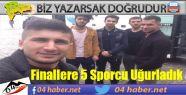 Ağrı'yı Finallerde 5 Sporcu