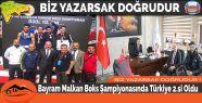 Bayram Malkan Boks Şampiyonasında